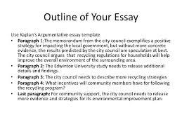 format for essay outline essayoutline argumentative essay outline x support professional