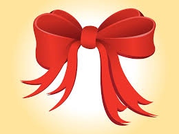 christmas ribbon christmas ribbon vector vector graphics freevector