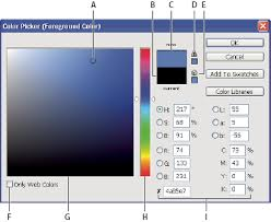 choose colors in adobe photoshop