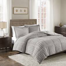 Cheap King Size Bedding Sets Bedroom Add Warmth To Your Bed With Fuzzy Comforter Set