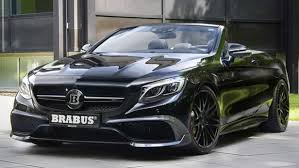fastest mercedes amg brabus turns mercedes s63 amg into s fastest four seat cabriolet