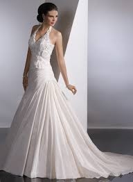 Cap Sleeved Crepe Sheath Wedding Dress David U0027s Bridal David Bridal Wedding Dresses Oleg Cassini Gold Lace Two Tier