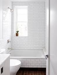 Bathroom Shower Window Bathroom White Subway Tile Bathroom Tub With Shower In