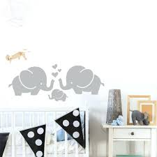 stickers deco chambre stickers deco chambre bebe alacphant mignon coeurs famille stickers