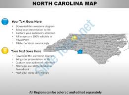 usa carolina map usa carolina state powerpoint maps presentation powerpoint