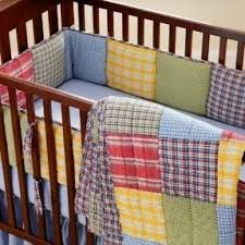 Plaid Crib Bedding Plaid Nursery Set Thenurseries