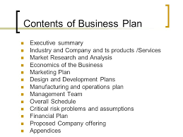 business plan format simple business plan template for kids