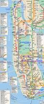 6 Train Map Download Manhattan Subway Map With Streets Major Tourist