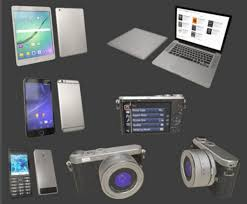 electronic gadgets 3d asset hq gadgets pack cgtrader