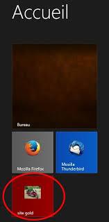 windows 8 icone bureau mettre un lien d un site web avec mozilla dans page accueil windows