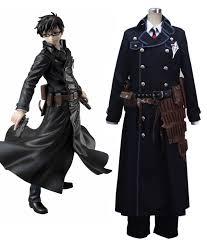 blue exorcist blue exorcist okumura yukio true cross academy cosplay costume