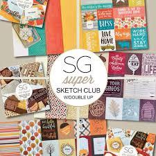 super sketch kit club scrapbook generation