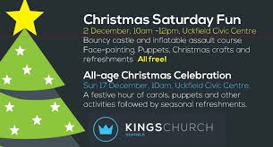 christmas saturday fun for children uckfield events