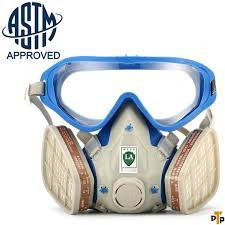 ventilation mask for painting respirator gas mask safety mask cover paint chemical mask