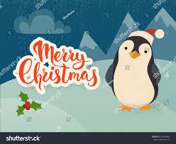 merry christmas vector card vintage christmas stock vector