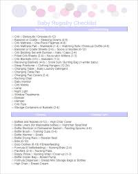 baby registry checklists surprising target baby shower registry