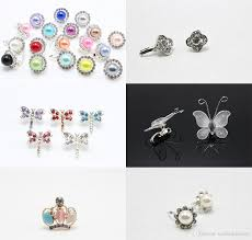 tiny small clip flower butterfly tiara grip