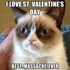 St Valentine Meme - i love saint valentines day meme guy