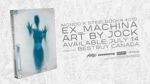 ex machina mondo x steelbook 010 best buy canada exclusive