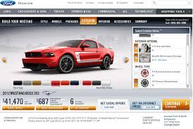2012 laguna seca mustang for sale ford introduces price configurator for 2012 mustang