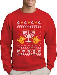 happy hanukkah sweater christmas hanukkah sweater happy holidays sweatshirt gift ebay