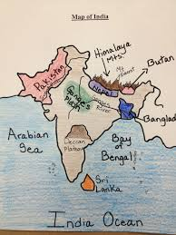 Blank Map Of Ancient Egypt by Water For Sixth Grade Map Of India