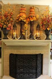Decorate Fireplace by How To Decorate Fireplace Mantel For Thanksgiving Home Design Ideas
