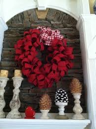 Valentine S Day Front Door Decor by Red Burlap Wreath Valentines Day Mommy Blogs Decorate Home