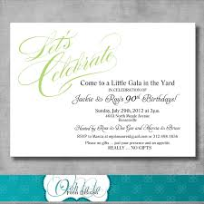 colors birthday party invitation card template with birthday