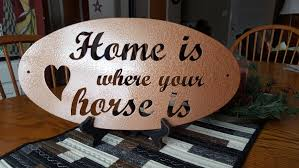 Gifts Home Decor Metal Cut Sign Horse Lover Gifts Home Decor Wall Decor Wall Art