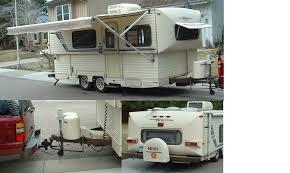 Hi Lo Camper Floor Plans 1989 Hi Lo Trailer Fun Chaser Travel Trailer Rvweb Com