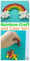 skittles rainbow craft and color sorting activity planning playtime