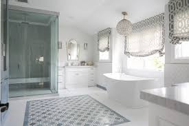 Foam Under Bathtub White Bathroom With Sea Foam Green Stool Transitional Bathroom