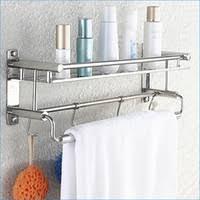 Bathroom Shelves With Towel Rack Bathroom Shelves With Towel Bar My Web Value