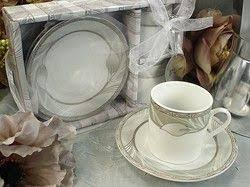 d lusso favors d lusso designs calla lilly design two cup two saucer espresso set