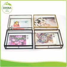 wedding gift jakarta professinal manufacture wedding gifts wall shadow box glass