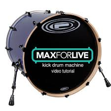 tutorial drum download max for live kick drum video tutorial free download device joshua
