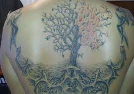 trees back tattoo designs page 2