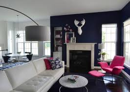 blue gray white living room most popular home design