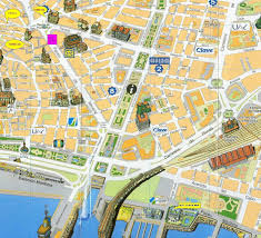 Almeria Spain Map by String Topology