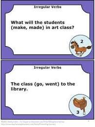 28 best grammar verbs images on pinterest teaching grammar