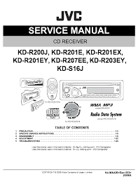 car stereo wiring diagram for jvc kd s38 wiring diagram for