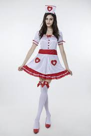 halloween costume 2017 2017 new white nurse dress with stockings uniform temptation