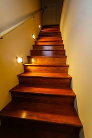 led staircase lighting traditional staircase st louis by
