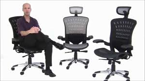 ergoflex ergonomic mesh office chair free shipping youtube