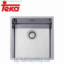Teka Kitchen Sink Steel Kitchen Sinks Undermount Teka Be Linea 40 40 R15