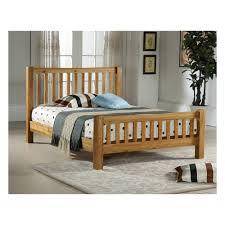 denver oak wooden king size bed cheapest denver 5ft bed oak uk