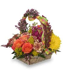 basket arrangements afternoon picnic basket in brandon fl foo te s flowers gifts