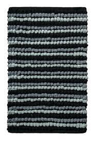 Black And White Bathroom Rugs Black And White Bathroom Rug Striped Runner Chevron Erkkeri Info