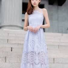 thread theory vow to wow organza dress lavender women u0027s